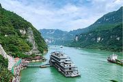 三峡大坝+西陵峡+过葛洲坝船闸 两坝一峡1日游 宜昌必游线路 纯玩 0购物