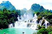广越纯玩ノ0购物!德天瀑布、通灵峡谷、越南下龙湾、河内 8天7晚游!