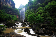 宜昌参团<三峡大瀑布(白果树瀑布)半日游>每天两班,市内定点免费接送