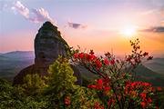 游广东七大名山之一霍山风景区、泡纯正养生温泉 观熙和湾客乡文化旅游产业园二天