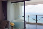惠东巽寮湾海韵海尚湾畔度假公寓2天1夜/无边泳池/海景浴缸/多个房型