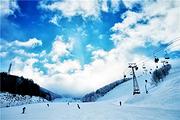 崇礼温泉滑雪张家口万龙滑雪场双龙酒店+双人早餐+双人万龙滑雪票+双龙温泉