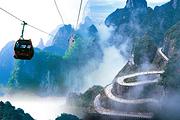 特惠秒杀•踏春超值游丨大峡谷玻璃桥+天门山玻璃栈道+凤凰古城+韶山丨双飞6日
