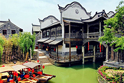 青岛周边游|活着的运河台儿庄古城、大战纪念馆、微山湖红荷湿地,入住古城内