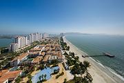 4人湾景/海景两房一厅套餐!惠州万科双月湾海之澜酒店2天自驾游,畅玩万科双湾