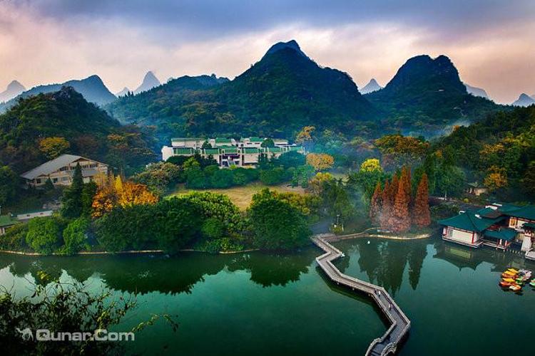 社姆山风景区图片