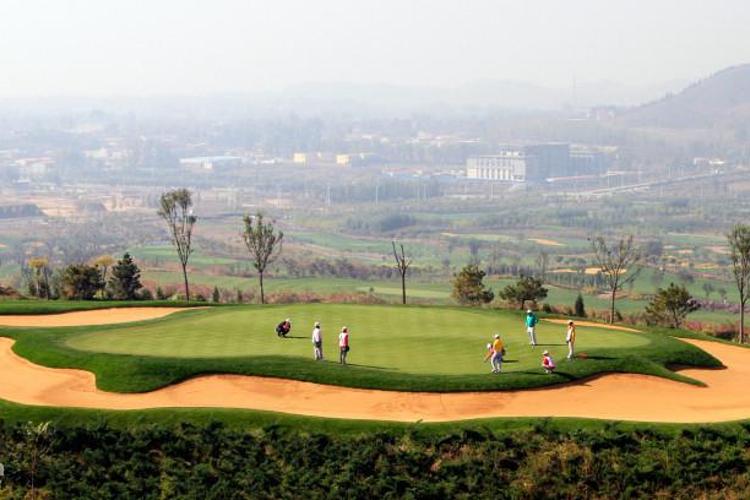 盘山高尔夫俱乐部旅游