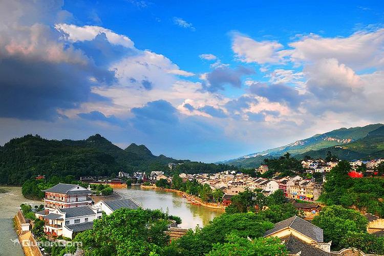 洪安古镇旅游