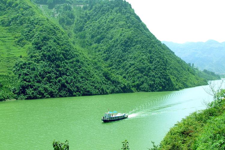 西安到汉江三峡风景区旅游
