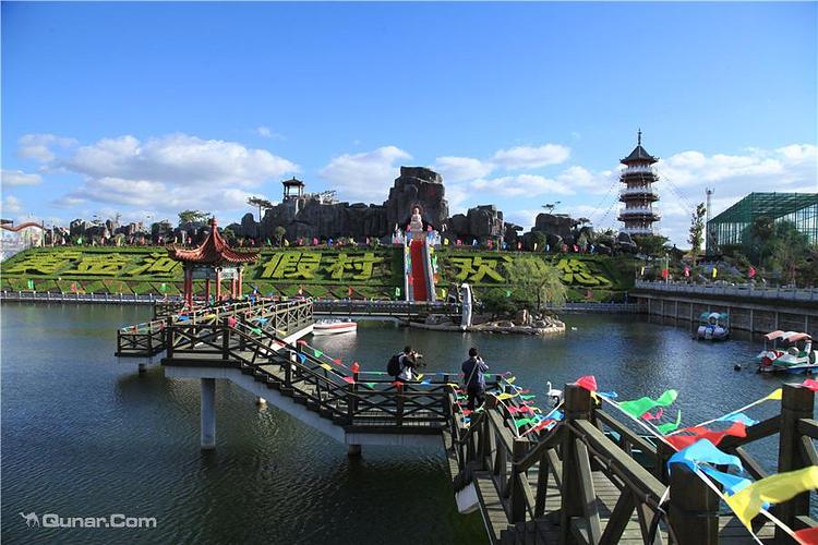 蓬莱黄金河度假村旅游