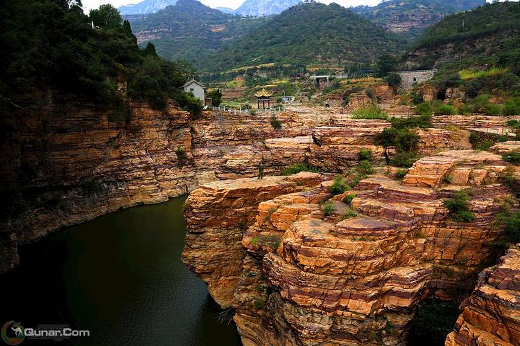 真实大自然风景图片 红旗渠