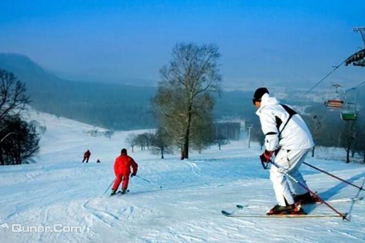 平山神鹿滑雪场旅游
