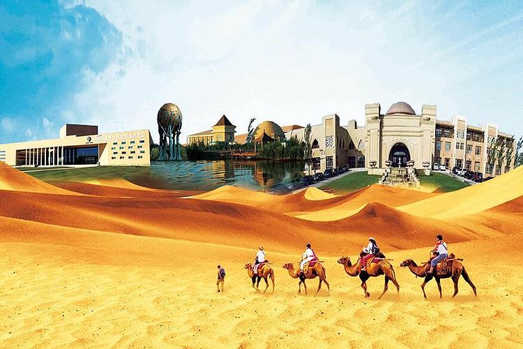 七星湖沙漠风景区旅游