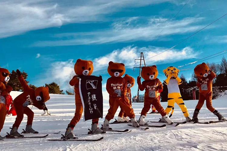 哈尔滨玉泉霜雪滑雪场旅游
