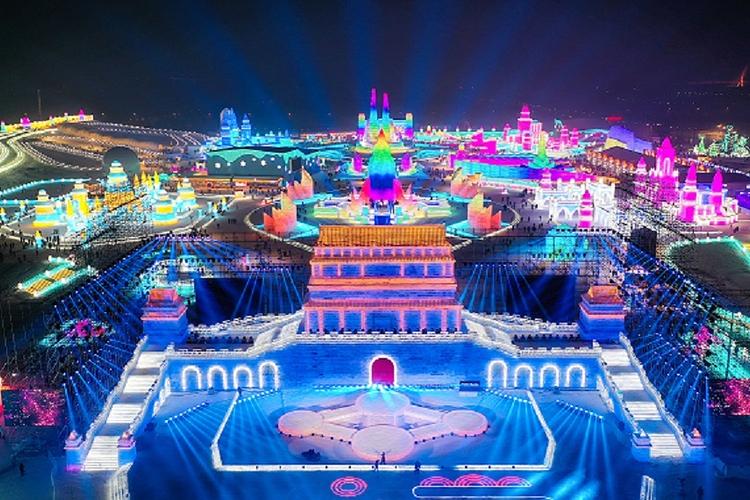 哈尔滨冰雪大世界旅游