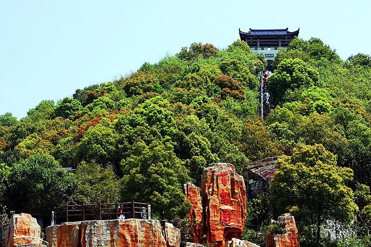 黄贤海上长城森林公园旅游