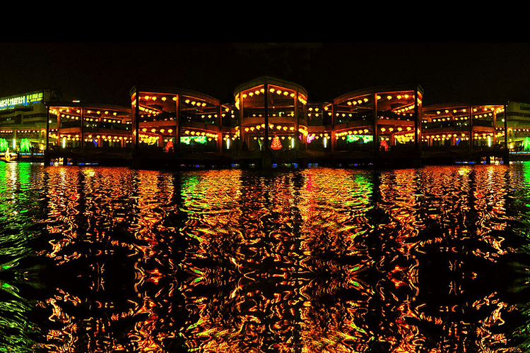 泰平洋水上广场旅游