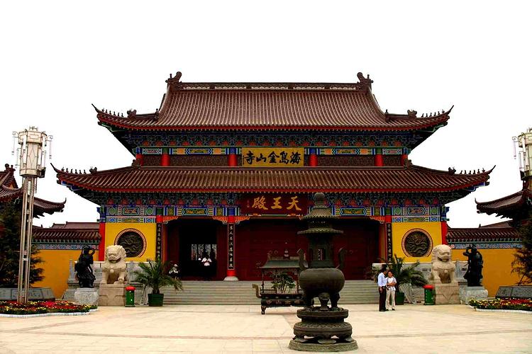 庆云县海岛金山寺景区旅游