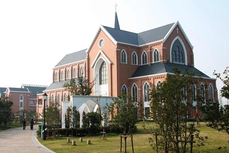 苏州独墅湖基督教堂旅游