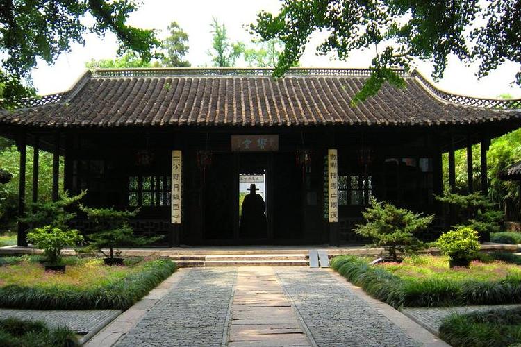 史可法纪念馆旅游