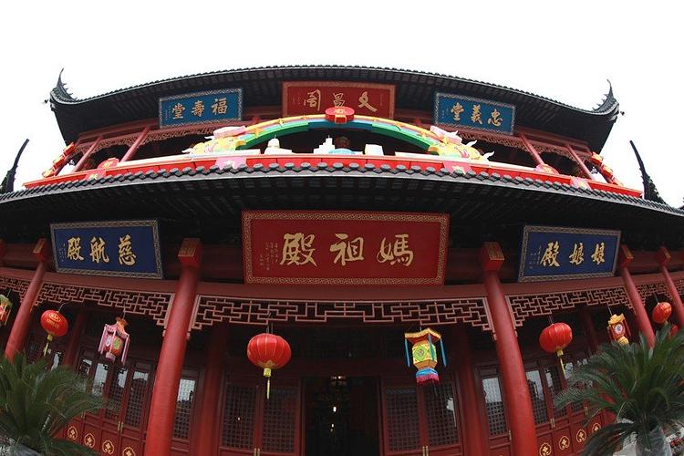 南通城隍庙旅游
