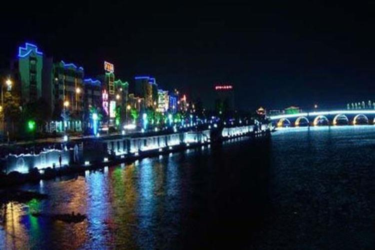 清溪河旅游