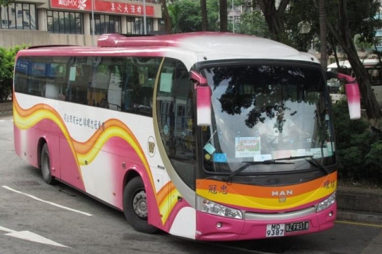 冠忠环岛跨境巴士旅游