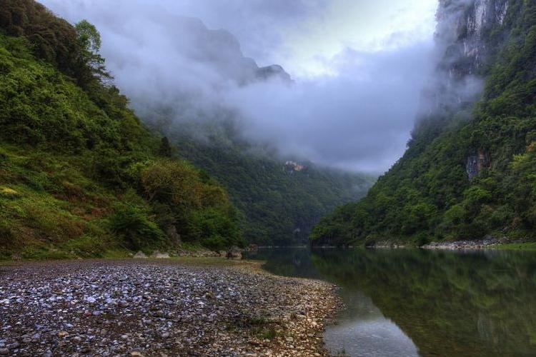 武隆珠子溪旅游