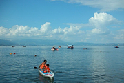 抚仙湖皮划艇