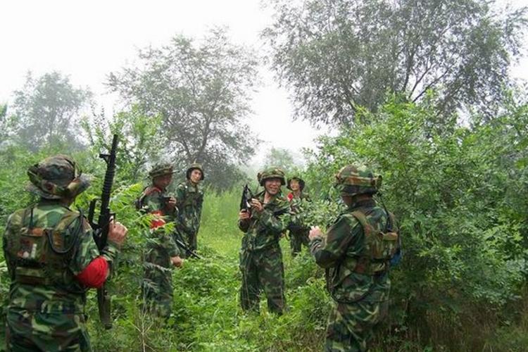 南昌梅岭野战基地旅游