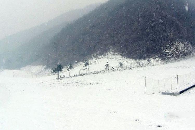 王屋山滑雪场旅游