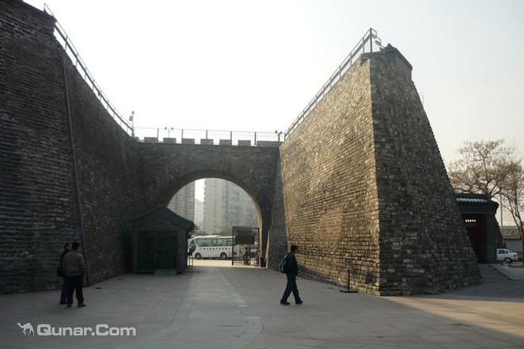 南京城墙遗址旅游