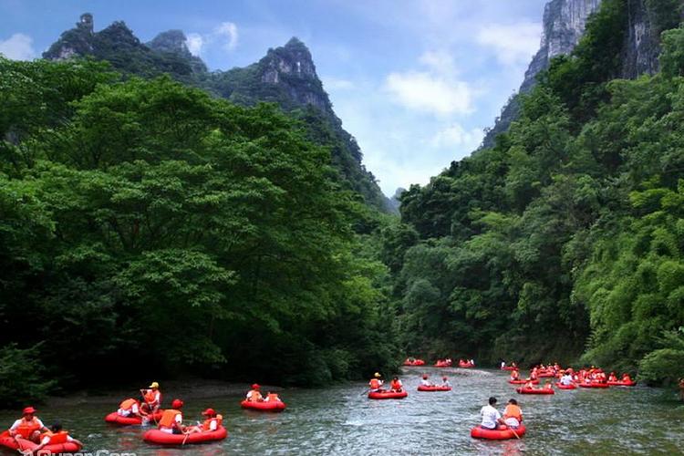 杉木河峡谷旅游