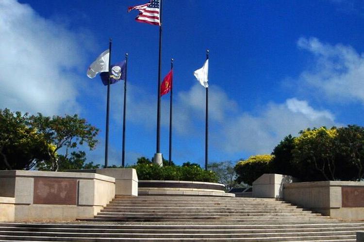 美军二战纪念公园旅游