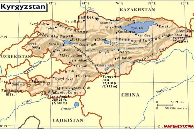 吉尔吉斯斯坦旅游