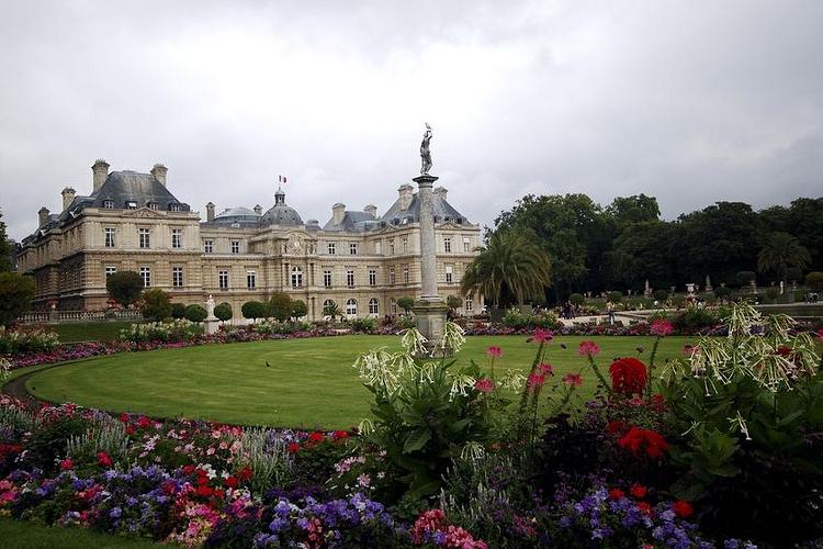 卢森堡公园旅游