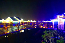 <中国马尔代夫-月坨岛+菩提岛>露天海景温泉休闲2日游