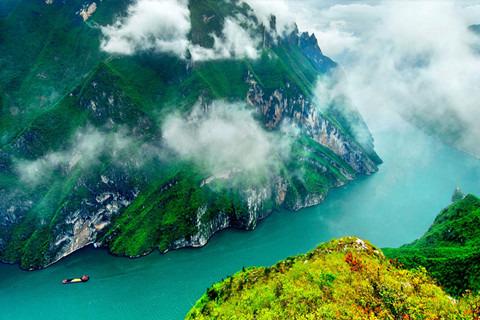 長江三峽--東方大帝號游輪(重慶至宜昌,四星豪華游輪