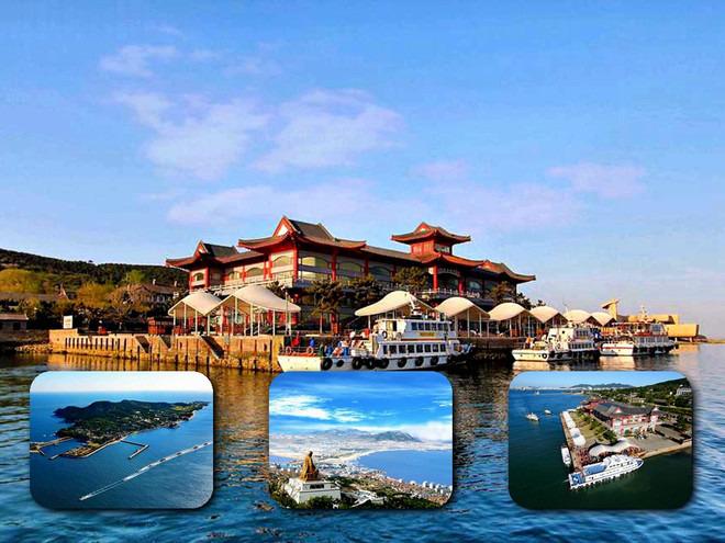 清爽一夏滨海游:青岛海洋世界-青岛游船3湾-崂山--阁