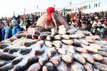 查干湖冬捕一日游、赠送美味农家全鱼宴(6道鱼+2菜)赠送20万人身意外保险