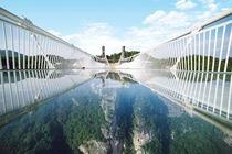 张家界大峡谷玻璃桥云天渡  大峡谷玻璃桥1日跟团游*玩转旅行季挑战玻璃桥