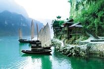 北京起止长江三峡、神农架、重庆、武隆涉外五星游轮包船游(上水双卧8天)