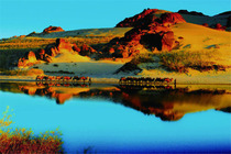 贡格尔大草原、玉龙沙湖、阿斯哈图石林二日游赤峰2日游天天发团