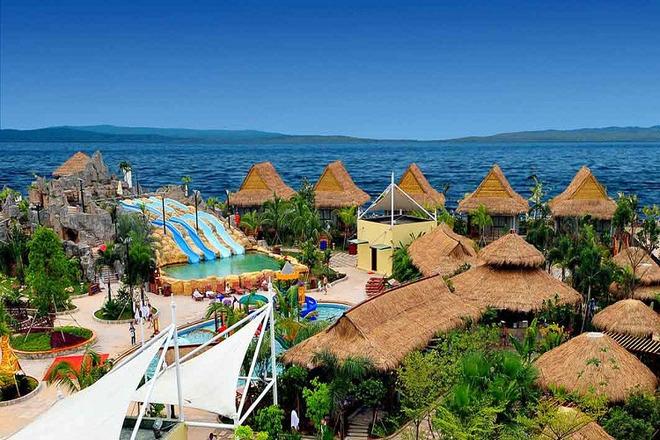 实惠到不行,温泉自驾到海泉湾温泉 六星级帆船酒店南山美爵豪华度假村