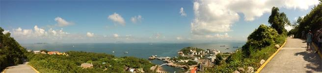 珠海香洲码头至万山群岛外伶仃岛精品游轮往返 住:海馨悠活度假酒店高