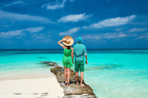 ☭小六热荐涠洲岛3天2晚自由行 送自拍杆 往返船票+上岛费+海边酒店+接送