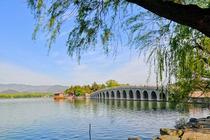 天坛、颐和园、圆明园、清华大学外景巴士1日跟团游游京城 观遗址 赠送清华外景 品尝庆丰套餐
