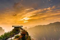 山西通天峡一日游(安阳市区免费接送,索道游览、太行山脉风景区、玻璃观景台)
