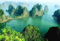 <中国国旅>元旦寒假广西南宁、越南、河内、下龙、北海5晚6日跟团游(双飞、穿越国境,含签证、赠送天堂岛)