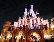 美好回忆*香港迪士尼乐园(住好莱坞酒店、标准房、2成人1小童两日迪士尼门票)